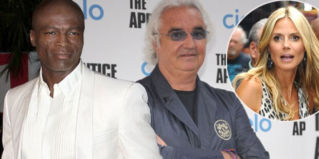 Seal & Briatore: Rache an Heidi Klum?