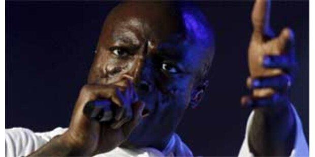 Heftige Unwetter bei Seal-Konzert