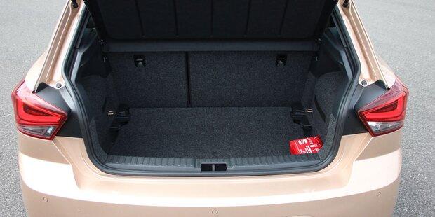 Seat testet Zustellung in den Kofferraum