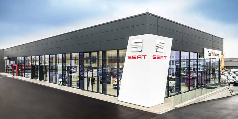 Neuer Seat Megastore in Wien eröffnet