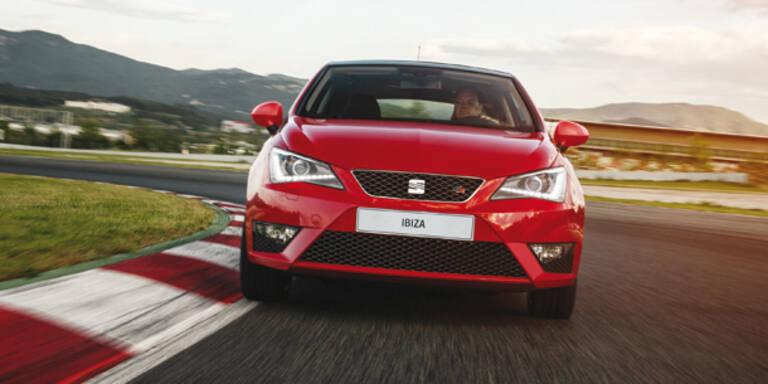 Neue Motoren für den Seat Ibiza FR