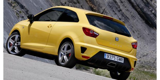 Feuriger Ibiza - Top Modell Cupra im Test