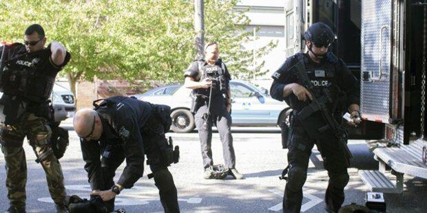 Schießerei auf Uni-Campus - Ein Toter