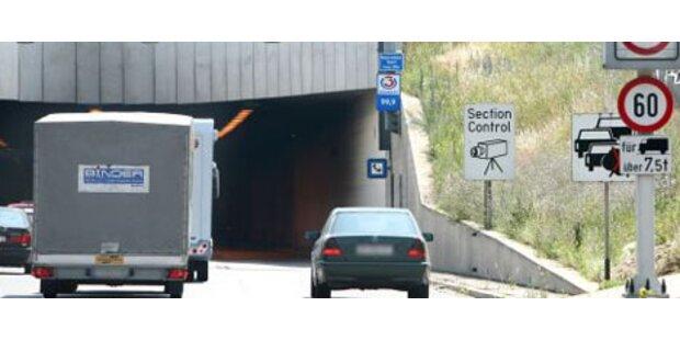Section Control auf A2 bei Graz
