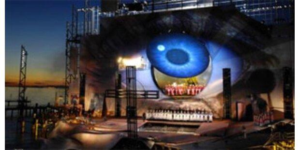 Bregenzer Festspiele 2009/2010 mit Verdis Aida