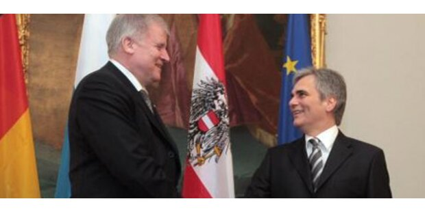 Bayerischer Ministerpräsident zu Besuch in Wien