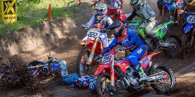 Motocross-Star wird überrollt
