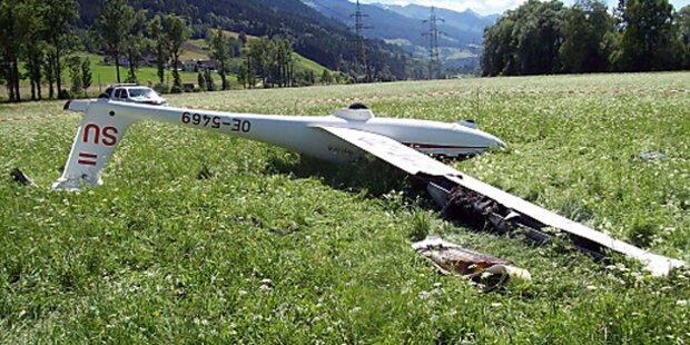 Segelflieger geriet in ÖBB-Leitung