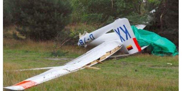 Segelflugzeug stürzte in den Bergen ab