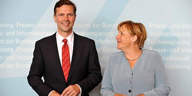 Porno-Panne von Merkel-Sprecher