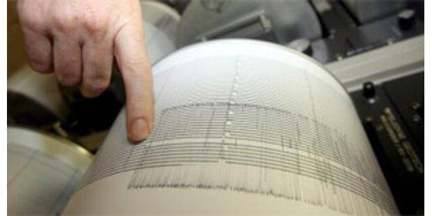 Schweres Erdbeben erschüttert Sibirien