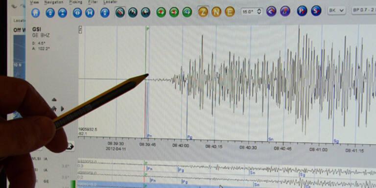 Starkes Erdbeben erschüttert Ägäis