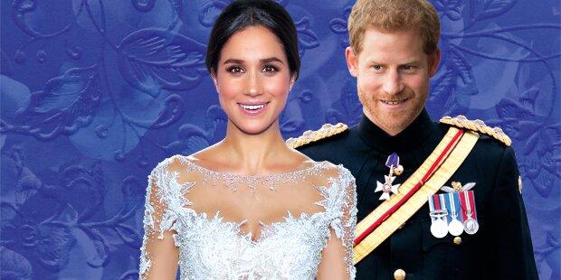 Das ist Meghan Markles Brautkleid