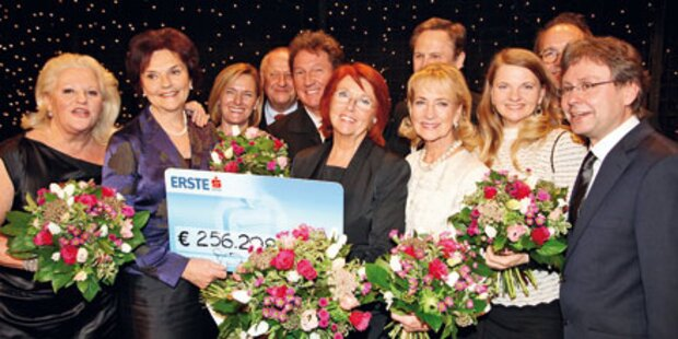 Spenden-Gala: Top-Promis im Einsatz