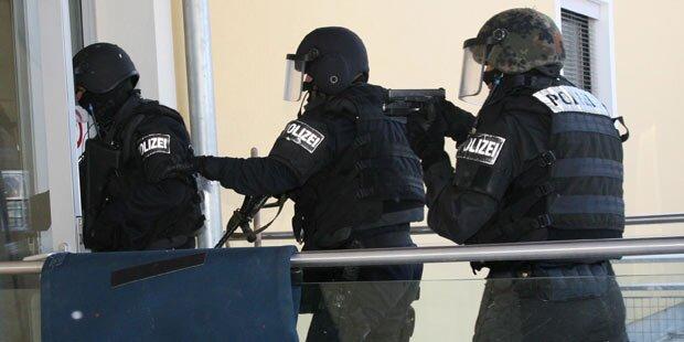 Großeinsatz: Polizei suchte Bewaffneten