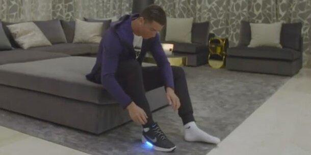 new style amazing selection amazing price Nikes selbstbindende Schuhe sind fertig
