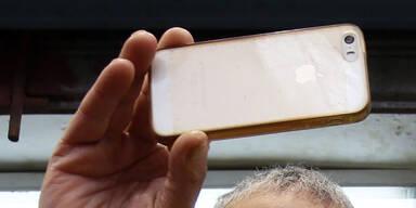 Handy-Dieb flog wegen Selfie auf