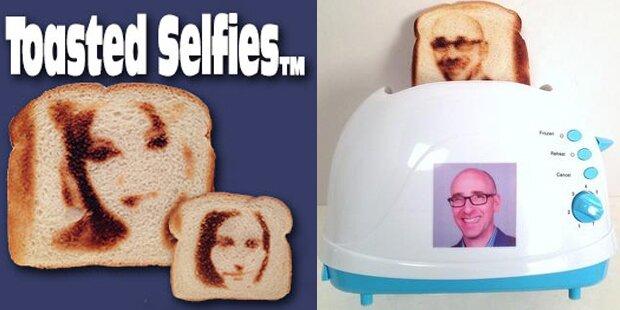 Selfie-Toaster wird zum Twitter-Hit