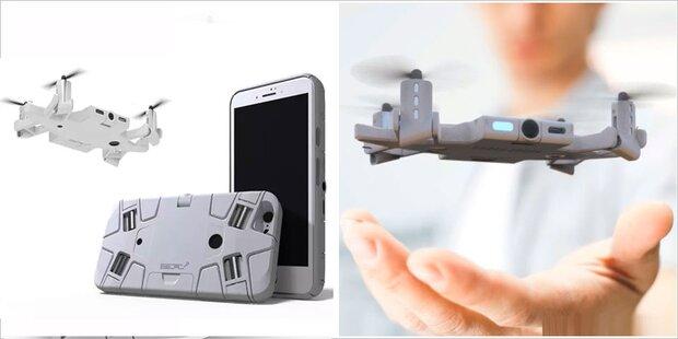 Handy-Hülle mutiert zur Selfie-Drohne