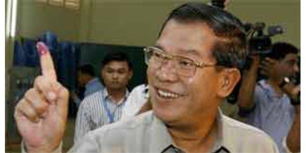CCP erklärt sich zum Wahlsieger in Kambodscha