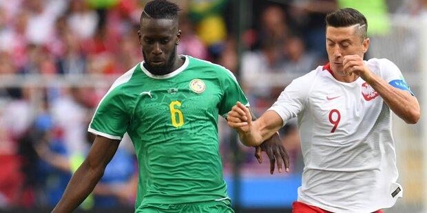 Kurioser Senegal-Sieg dank Polen-Patzer