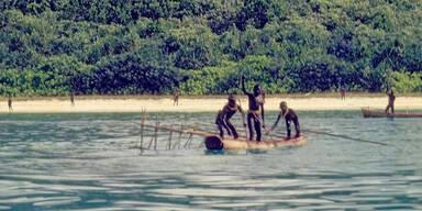 Steinzeit-Volk begrub Leiche von Missionar am Strand