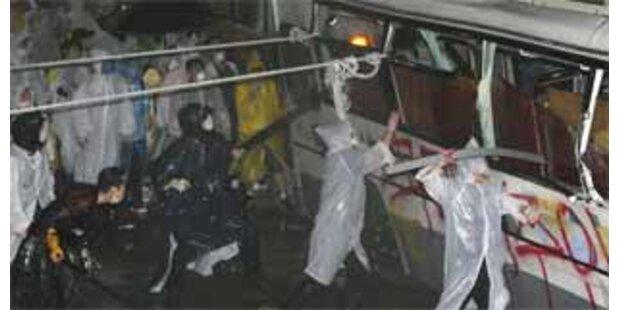 Verletzte bei Demo gegen Rindfleisch-Importe