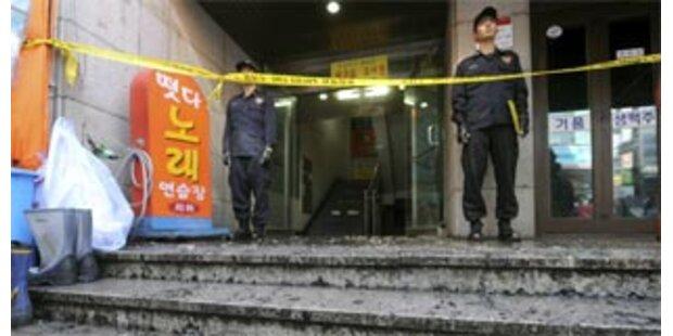 Koreaner erstach aus Frust fünf Menschen