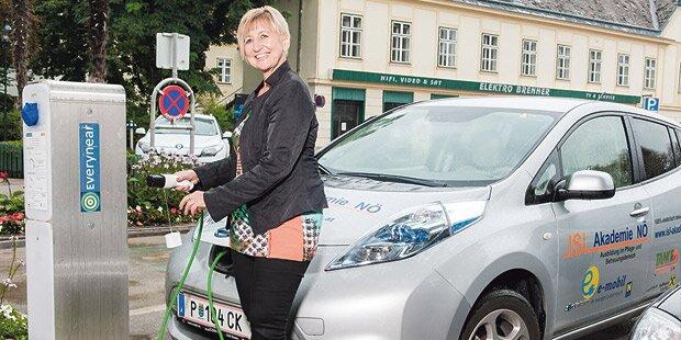 Pionierin berichtet: E-Auto als Firmenwagen