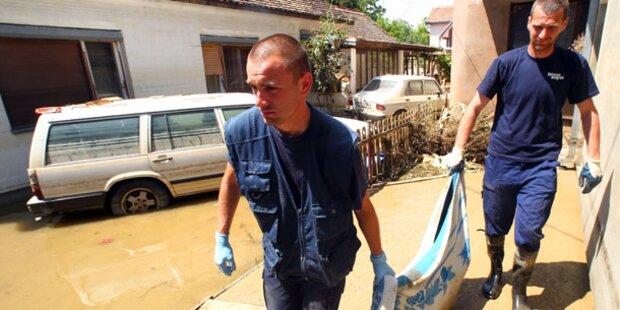 Opferzahl am Balkan auf 59 gestiegen