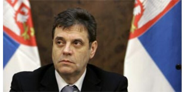 Serbiens Regierung stürzt in schwere Krise