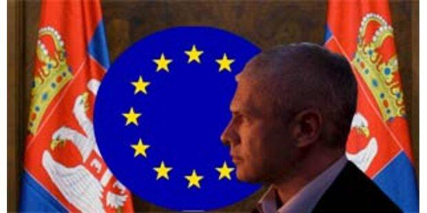 Zwei Drittel der Serben für EU-Beitritt