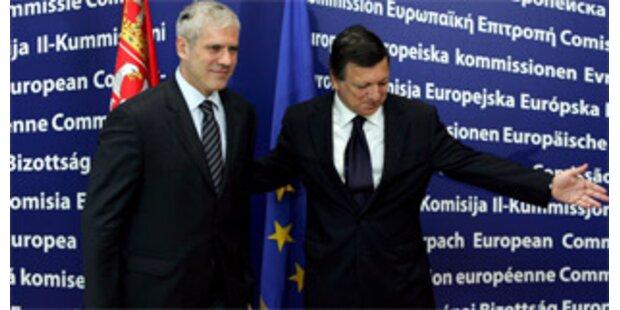 Serbien könnte EU-Kandidatenstatus 2009 erhalten