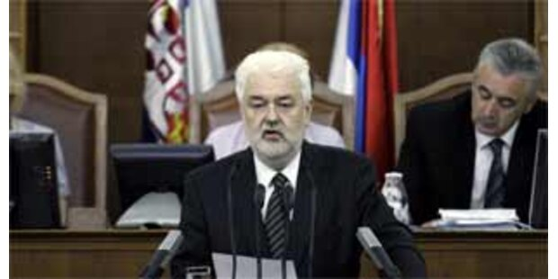 Neue serbische Regierung vom Parlament bestätigt