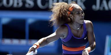 Serena Williams im Viertelfinale out
