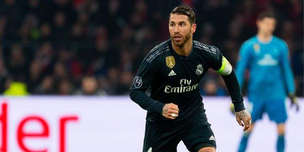 Riesen-Wirbel um Sergio Ramos