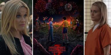 Serien Sommer Little Big Lies Stranger Things Orange is the new black