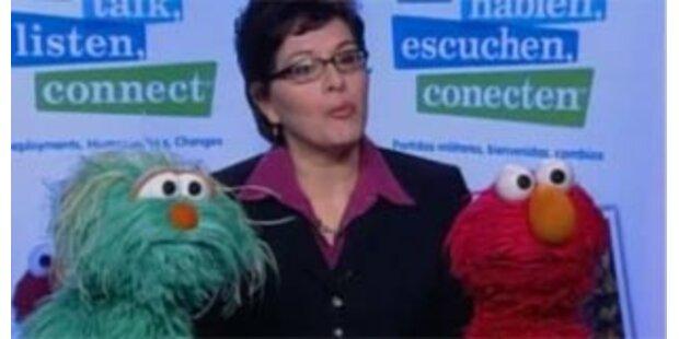 Sesamstraße erklärt Kindern den Krieg