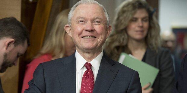 Jeff Sessions als neuer US-Justizminister bestätigt