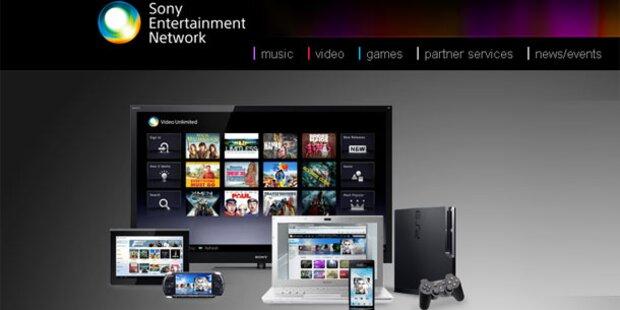 Sony Entertainment Network (SEN) startet
