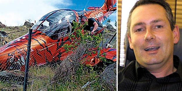 Austro-Millionär überlebt Flug-Crash
