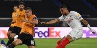 1:0 - Sevilla mit Last-Minute-Sieg gegen Wolves