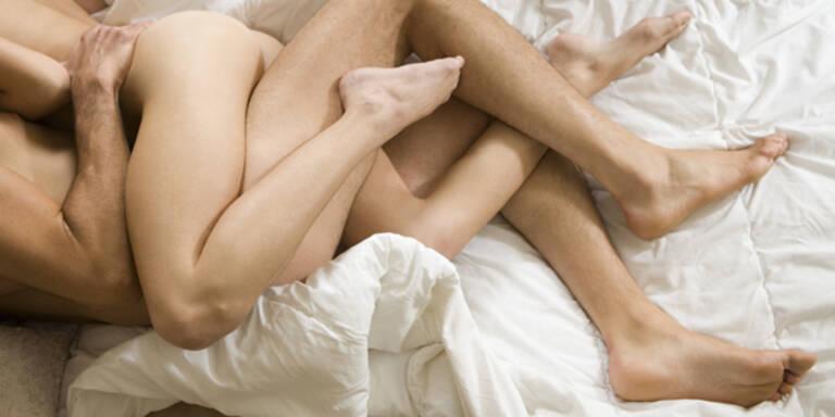 Frauen schlafen nach Sex auch ein