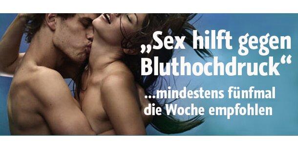 """""""Sex hilft gegen Bluthochdruck"""""""