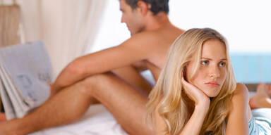 Häufige Ursachen für die Flaute im Bett