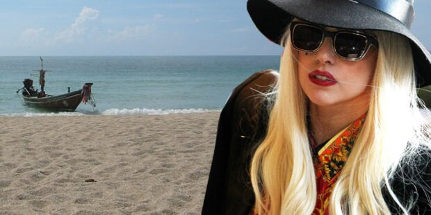 Lady Gaga steht auf