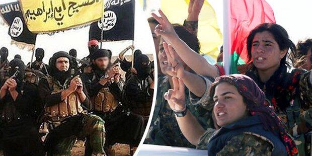 Ex-ISIS-Sex-Sklavinnen rüsten sich zum Kampf
