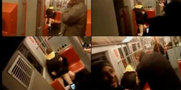 Jetzt gibt's den Song zum U-Bahn-Sex