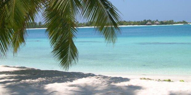 Promis flittern auf den Seychellen