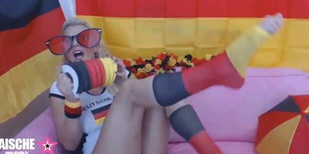 Porno Sternchen singt für Deutschland